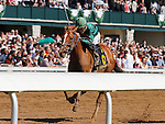 LEXINGTON, KY - APRIL 16: #6 Eagle and jockey brian Hernandez Jr., win the 86th running of The Ben Ali (Grade 3) $200,000 Keeneland race course  for owner W. S. Farish, and trainer Neil Howard.  April 16, 2016 in Lexington, Kentucky. (Photo by Candice Chavez/Eclipse Sportswire/Getty Images)