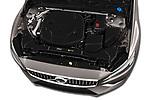 Car stock 2020 Volvo V60 Inscription 5 Door Wagon engine high angle detail view
