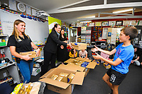 Zespri community investment initiative at Kaitoke School in Whanganui, New Zealand on Tuesday, 24 November 2020. Photo: Dave Lintott / lintottphoto.co.nz