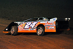 Feb 12, 2009; 7:08:14 PM; Barberville, FL, USA; World of Outlaws Late Model Series for the $10,000 to win at Volusia Speedway Park.  Mandatory Credit: (thesportswire.net)