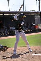 "Lazaro ""Lazarito"" Armenteros - Oakland Athletics 2021 spring training (Bill Mitchell)"