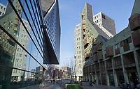 Nederland  Amsterdam  2020. Moderne architectuur op het IJdock.   Foto : ANP/ HH / Berlinda van Dam