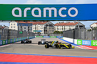 26th September 2020, Sochi, Russia; FIA Formula One Grand Prix of Russia, qualification;  31 Esteban Ocon FRA, Renault DP World F1 Team