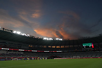 TOKYO, JAPAN - JULY 20: Tokyo Stadium during a game between Sweden and USWNT at Tokyo Stadium on July 20, 2021 in Tokyo, Japan.