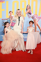 """Brooklyn Kimberly Prince, Bria Vinaite and Valeria Cotto<br /> arriving for the London Film Festival 2017 screening of """"The Florida Project"""" at Odeon Leicester Square, London<br /> <br /> <br /> ©Ash Knotek  D3335  13/10/2017"""