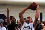 Los Altos eagles boys basketball loses to Saratoga in league play