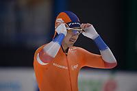SPEEDSKATING: 24-11-2019 Tomaszów Mazowiecki (POL), ISU World Cup Arena Lodowa, 500m Men Division A, Kai Verbij (NED), ©photo Martin de Jong