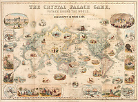 Rare Victorian board game celebrating the might of the British Empire has emerged for sale