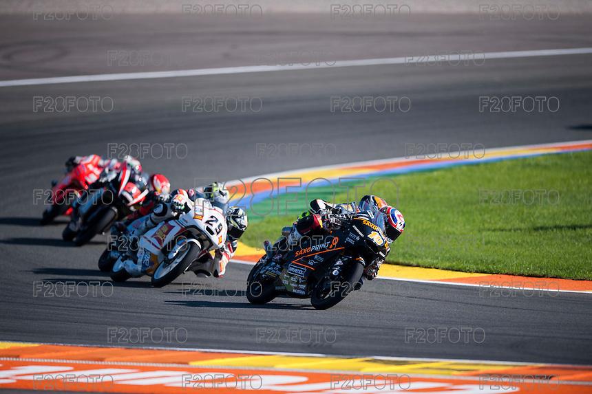 VALENCIA, SPAIN - NOVEMBER 8: Alexis Masbou during Valencia MotoGP 2015 at Ricardo Tormo Circuit on November 8, 2015 in Valencia, Spain