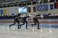 SPEEDSKATING: 14-02-2020, Utah Olympic Oval, ISU World Single Distances Speed Skating Championship, Team Pursuit Ladies, Team USA, ©Martin de Jong