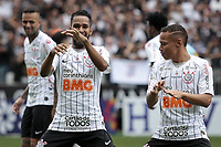 Sao Paulo (SP), 02/02/2020 - Corinthians-Santos - Everaldo comemora primeiro gol. Corinthians e Santos, durante partida valida pela quarta rodada do campeonato paulista 2020, na Arena Corinthians, zona leste da capital, na manha deste domingo (02). (Foto: Ale Frata/Codigo 19/Codigo 19)