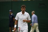 England, London, 23.06.2014. Tennis, Wimbledon, Robin Haase (NED)<br /> Photo: Tennisimages/Henk Koster