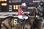 February 13, 2021: Midnight Bourbon in the Risen Star Stakes at Fair Grounds Race Course in New Orleans, Louisiana. Parker Waters/Eclipse Sportswire/CSM