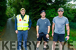 , Michael Parker John Mahoney and Declan Keenan at the Everesting Challenge in Kilflynn on Sunday