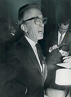 Tommy Douglas, NDP Leader