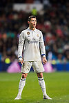 Cristiano Ronaldo of Real Madrid looks on during their La Liga match between Real Madrid and Real Sociedad at the Santiago Bernabeu Stadium on 29 January 2017 in Madrid, Spain. Photo by Diego Gonzalez Souto / Power Sport Images