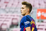 Denis Suarez Fernandez of FC Barcelona reacts during the La Liga 2017-18 match between FC Barcelona and Las Palmas at Camp Nou on 01 October 2017 in Barcelona, Spain. (Photo by Vicens Gimenez / Power Sport Images