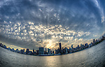 Fisheye Skyline