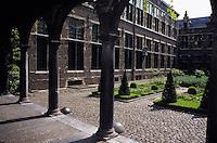 Europe/Belgique/Flandre/Province d'Anvers/Anvers : Le musée Plantin-Moretus et la cour haut-lieu de l'imprimerie (XVI°)