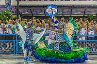 Rio de Janeiro (RJ), 22/02/2020 CARNAVAL - RJ - DESFILE - Desfile das escolas de samba Academicos do Sossego, da Serie A, neste sabado (22), no sambodromo, no centro do Rio de Janeiro (RJ) (Foto: Ellan Lustosa/Codigo 19/Codigo 19)