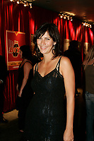 Actress Genevieve Brouillette<br /> at the<br /> Reception Chrystal Film  at the Spectrum in Montreal, during the Montreal New Film Fest - Nouveau Festival de Cinema de Montreal
