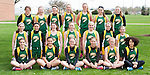 April 24, 2014- Tuscola, IL- The Hornet 7th Grade Girls Track team. Standing from left are Gabrielle Ainsworth, Ashton Smith, Lexie Russo, Allison Clark, Faith Hardwick, and Jackie Watson. Kneeling from left are Whitney Root, Grace Dietrich, Halie Pfeiffer, Sidney Watson, Anna Spillman, Clairie Ring, and Abbie Heath. Sitting from left are McKinlee Miller, Caroline Rominger, Natalie Bates, Emily Kemp, Bethany Snyder, and Katie Smith. [Photo: Douglas Cottle]