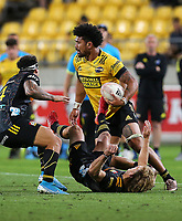 Hurricanes Ardie Savea. Super Rugby Aotearoa. Hurricanes v Chiefs. Sky Stadium, Wellington. Saturday 20th March 2021. Copyright photo: Grant Down / www.photosport.nz