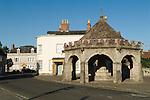 Somerton Somerset Uk.The Buttercross. 2012