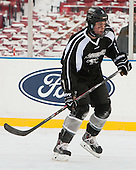 Kevin Hart (PC - 2) -  - The participating teams in Hockey East's first doubleheader during Frozen Fenway practiced on January 3, 2014 at Fenway Park in Boston, Massachusetts.