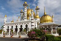 Ubudiah Mosque, Kuala Kangsar, Malaysia.  Built 1917, Restored 2003.