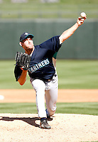 Garrett Olson -  Seattle Mariners - 2009 spring training.Photo by:  Bill Mitchell/Four Seam Images