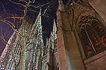 Saint Patricks Cathedral on Christmas Eve.