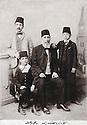 Turkey 1900? .<br /> Ankara: Emin Ali Bedir Khan with his sons Suraya, Kamuran and Geladet.<br /> Turquie 1900?.<br /> Ankara: Emin Ali Bedir Khan avec ses fils, Suraya, Kamuran et Geladet