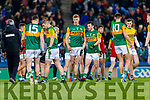 Tommy Walsh and Paul Murphy, Kerry before the Allianz Football League Division 1 Round 1 match between Dublin and Kerry at Croke Park on Saturday.