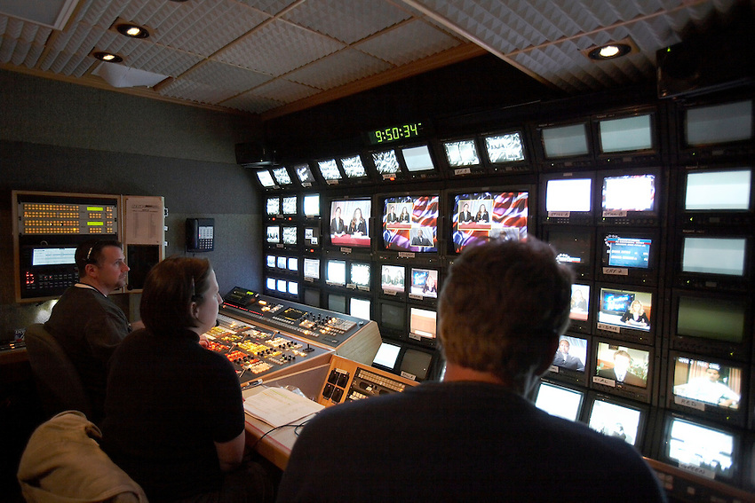 Lafayette College students produced a live election return television broadcast on tuesday night November 7th which was aired from the Pfenning Alumni Center...Election.coverage.TV.media.Special Events