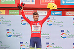 Odd Christian Eiking (NOR) Intermarché-Wanty-Gobert Matériaux is the new race leader after Stage 10 of La Vuelta d'Espana 2021, running 189km from Roquetas de Mar to Rincón de la Victoria, Spain. 24th August 2021.     <br /> Picture: Luis Angel Gomez/Photogomezsport   Cyclefile<br /> <br /> All photos usage must carry mandatory copyright credit (© Cyclefile   Luis Angel Gomez/Photogomezsport)