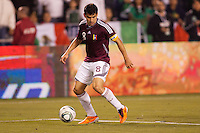 Venezuela midfielder and Captain Tomas Rincon (8) moves with the ball. The national teams of Mexico and Venezuela played to a 1-1 draw in an International friendly match at  Qualcomm stadium in San Diego, California on  March 29, 2011...