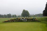 3rd July 2021; Mount Juliet Golf Club, Kilkenny, Ireland; Dubai Duty Free Irish Open Golf, Day Three; The Mount Juliet initials in the flower arrangement