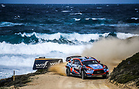 11th October 2020, Alghero, ‎Sardinia, Italy; WRC Rally of Sardinia;  LOUBET comes home in 7th place