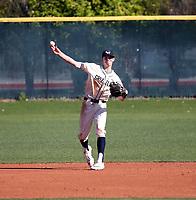Brayden Taylor of Copper Hills Grizzlies plays in the Boras Classic of Arizona on March 14, 2020 at Corona Del Sol High School in Tempe, Arizona  (Bill Mitchell)