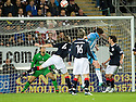 21/09/2010   Copyright  Pic : James Stewart.sct_jsp019_falkirk_v_hearts  .:: KEVIN KYLE HEADS HOME THE THIRD :: .James Stewart Photography 19 Carronlea Drive, Falkirk. FK2 8DN      Vat Reg No. 607 6932 25.Telephone      : +44 (0)1324 570291 .Mobile              : +44 (0)7721 416997.E-mail  :  jim@jspa.co.uk.If you require further information then contact Jim Stewart on any of the numbers above.........