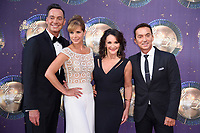 "Craig Revel Horwood, Darcey Bussell, Shirley Balass and Bruno Tonioli<br /> at the launch of the new series of ""Strictly Come Dancing, New Broadcasting House, London. <br /> <br /> <br /> ©Ash Knotek  D3298  28/08/2017"