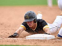 Bishop Verot Vikings outfielder Brady Loughren (12) during the 42nd Annual FACA All-Star Baseball Classic on June 5, 2021 at Joker Marchant Stadium in Lakeland, Florida.  (Mike Janes/Four Seam Images)