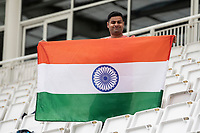 Despite the poor prospects of play, Indian support still smiling during India vs New Zealand, ICC World Test Championship Final Cricket at The Hampshire Bowl on 18th June 2021