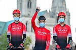 Nacer Bouhanni (FRA) and Arkea-Samsic at sign on before Paris-Tours 2020, running 213km from Chartres to Tours, France. 11th October 2020.<br /> Picture: ASO/Gautier Demouveaux | Cyclefile<br /> All photos usage must carry mandatory copyright credit (© Cyclefile | ASO/Gautier Demouveaux)