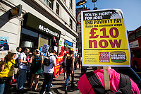 """15.04.2015 - """"We're Not Loving It! - McDonald's Low Pay is Not OK"""""""