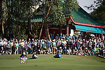 David Lipsky of USA putts on the green during the 58th UBS Hong Kong Golf Open as part of the European Tour on 11 December 2016, at the Hong Kong Golf Club, Fanling, Hong Kong, China. Photo by Vivek Prakash / Power Sport Images
