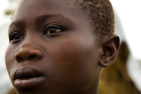Jolie Moseka was captured by the LRA in Congo. After her release she fled to Nyori refugee camp with her family.