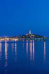 Croatia, Istria, Twilight Rovinj