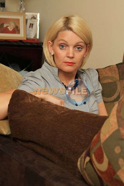 Fiona O'Connell from Cherrymount in Drogheda..Picture Fran Caffrey/Newsfile.ie